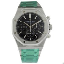 Audemars Piguet AP Royal Oak Chronograph 41mm Steel Black Dial