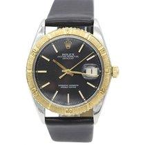 Rolex Men's Rolex Datejust 18K Yellow Gold S/S Thunderbird...