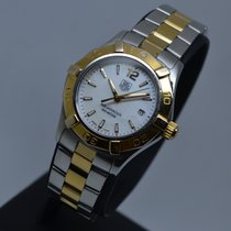 TAG Heuer Aquaracer 300M Gold Steel MOP 28mm Lady watch with...