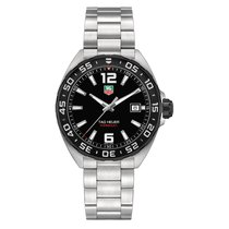 TAG Heuer Formula 1 41mm Date Quartz Mens Watch Ref WAZ1110.BA...