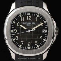 Patek Philippe Stainless Steel Black Dial Jumbo Aquanaut...
