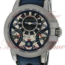 Harry Winston Ocean Project Z10, Blue Anodized Aluminum...