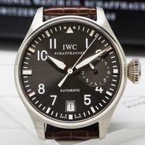 IWC IW500402 Big Pilot Grey Dial 18K White Gold (25189)