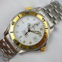 Omega Seamaster Professional Quarz - medium - Stahl-Gold