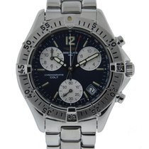 Breitling Colt Quartz Chronograph Stainless Steel With Blue...