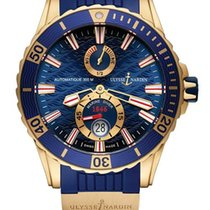 Ulysse Nardin Diver Chronometer 18K Rose Gold Men's Watch