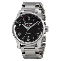 Montblanc Timewalker Voyager Automatic Black Dial Men's Watch