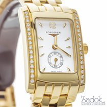Longines Dolce Vita 19.80x24.50mm 18k Yellow Gold Watch...