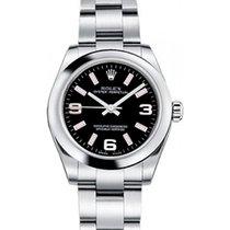 Rolex Oyster Perpetual 31 Ladies Midsize 177200-BKPADO 31mm...