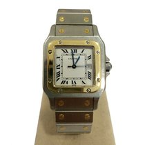 Cartier SANTOS AUTOMATIC GOLD STELL  ref 2961