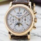 Patek Philippe Perpetual Calendar Chronograph 18K Rose Gold