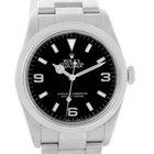 Rolex Explorer I Black Dial Oyster Bracelet Mens Watch 114270...