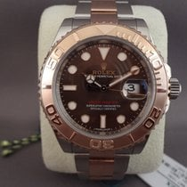 Rolex Yacht-Master steel/everose/pink gold choco dial / 40mm