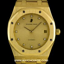 Audemars Piguet 18k Yellow Gold Rare Diamond Dial Royal Oak...