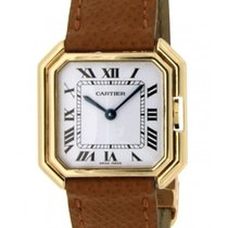 Cartier Ceinture Yellow Gold 18kt, Leather, 25x27mm