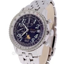 Breitling Montbrillant Eclipse Chronograph  A43030 Mens Steel