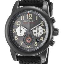 Chopard Grand Prix De Monaco Historique Grey Dial Black Rubber...