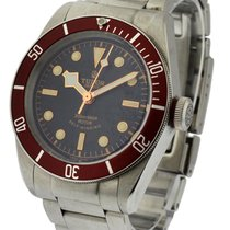 Tudor Heritage Black Bay 41mm Automatic in Steel