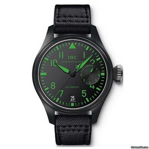 IWC Big Pilots Top Gun Boutique Edition Automatic Ceramic Mens Watch IW501903