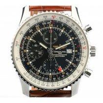 Breitling Navitimer World Chronograph Stahl Automatik 46mm...