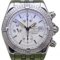 Breitling Chronomat Evolution A13356 Silver Index Stainless...