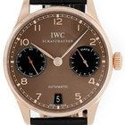 IWC Portuguese 7 Days Power Reserve Automatic 18k Rose Gold...