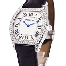 Cartier WA503851 TORTUE in White Gold with 2 - Row Diamond...