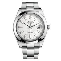 Rolex Datejust II Mens Datejust II Automatic Stainless Steel...
