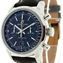 Breitling Transocean Chronograph 38 Automatic Watch A4131012/B...