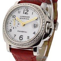 Panerai PAM 179 40mm Marina with original Diamond Bezel