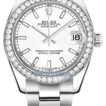 Rolex Datejust 31mm Stainless Steel 178384 White Index Oyster