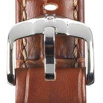 Hirsch Uhrenarmband Grand Duke goldbraun L 02528070-2-22 22mm