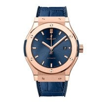 Hublot Classic Fusion 38mm Automatic 18K Rose Gold Mens Watch...