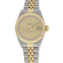 Rolex Ladies Rolex Datejust 18K YG & SS 69173
