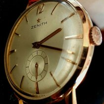 "Zenith Stellina""—Gold—Men's Wristwatch—1950s"""
