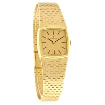 Zenith Vintage Ladies Champagne Dial 18K Gold Swiss Mechanical...