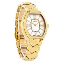 Valentino Liaison Ladies GoldTone Swiss Quartz Watch V48SBQ509...
