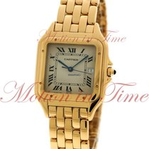 Cartier Panthere Extra Large, Silver Dial - Yellow Gold on...