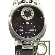Anonimo Firenze Dual Time black dial 100% NEW