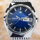 Enicar Automatic Jumbo 1970's Stainless Steel Retro Swiss...