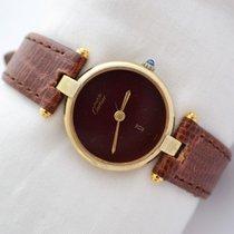 Cartier Vermeil 925 Quartz Ladies Watch
