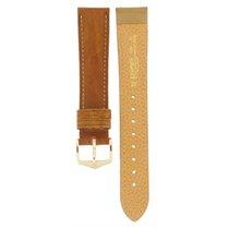 Hirsch Camelgrain Brown Leather Strap 18mm
