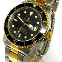Rolex Submariner Date Bicolor Edelstahl 18 Kt Gold Ref. 16613...