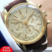Omega Vintage Omega Chronograph  35mm gold plated cal 861