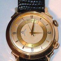 Jaeger-LeCoultre 14K Solid Gold Wrist Alarm  Watch Cal. K814...
