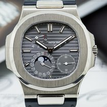 Patek Philippe 5712G-001 Nautilus Power Reserve Moonphase 18K...