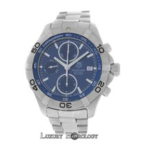 TAG Heuer Men's   Aquaracer CAF2112 Chrono Steel 300M...