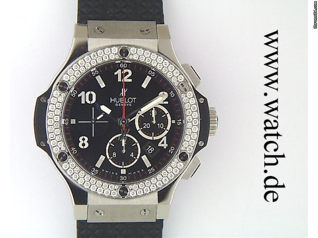 Hublot Big Bang Diamond Chronograph 44mm