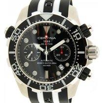 Certina Diver Ds Action Co13.42717.051.00 Acciaio Caucciù, 49mm