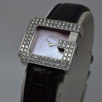 Gucci G 3600L 2ct Diamond Pink MOP Dial